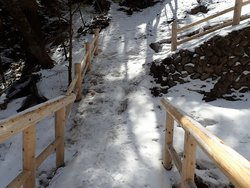 【4/5】湯滝~小滝間の周回コース歩道状況
