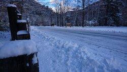 【12/23】湯元の積雪状況