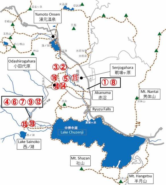 クマ目撃マップ