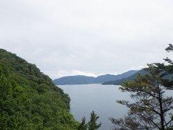 【9/20】中禅寺湖北岸歩道状況